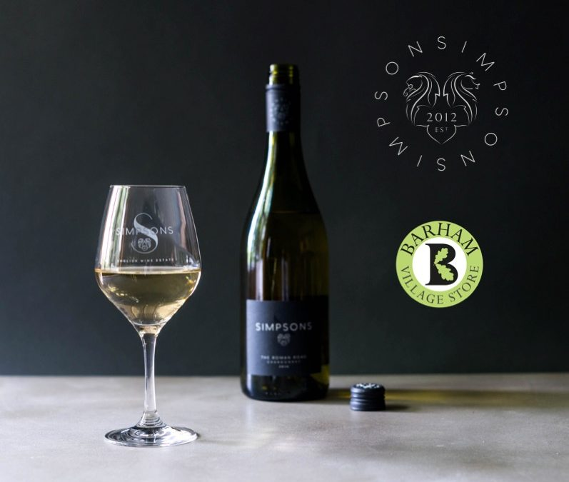 Simpsons The Roman Road Chardonnay 2017 Local Launch