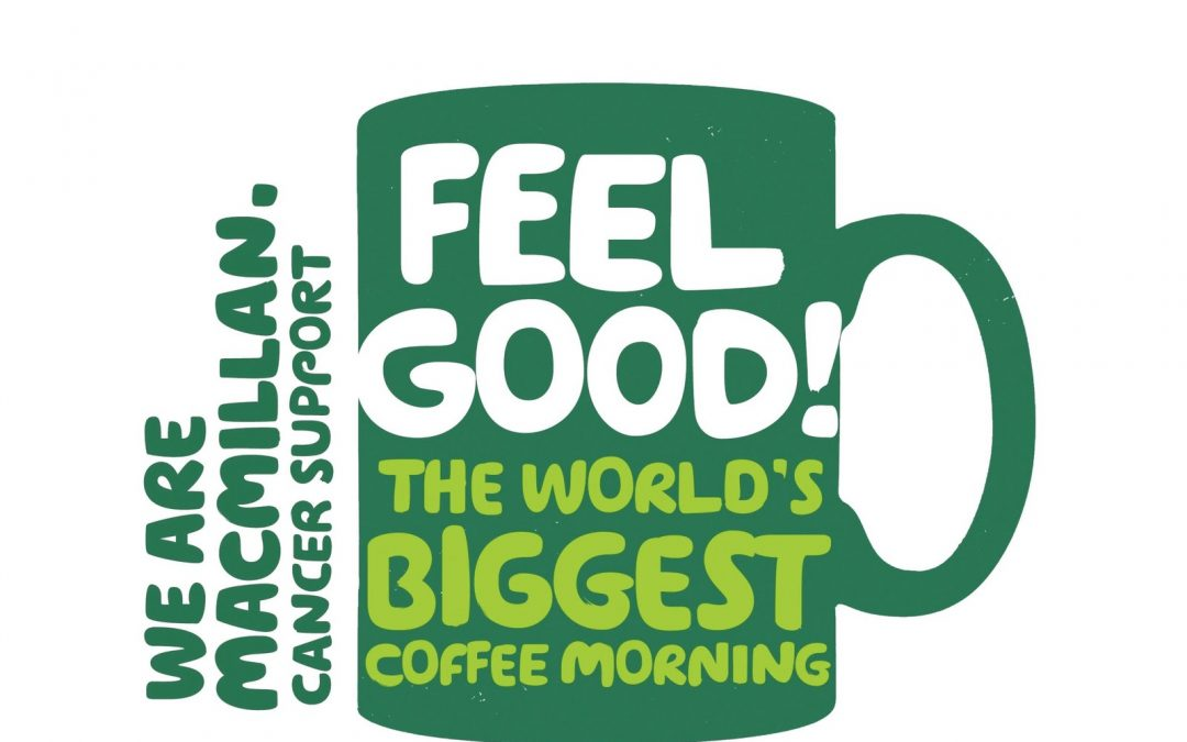 Support The World's Biggest Coffee Morning 28th September